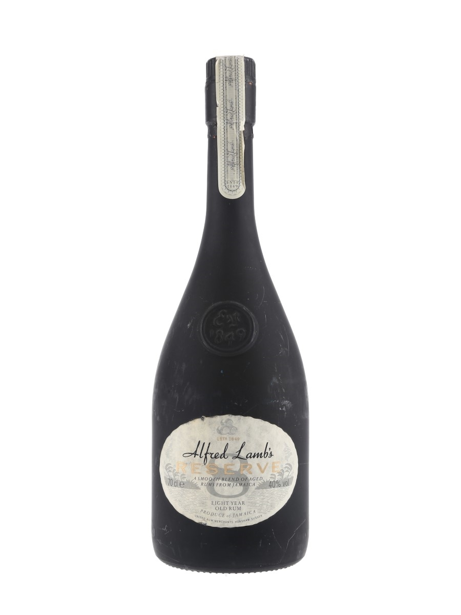Alfred Lamb's 8 Year Old Reserve Bottled 1980s-1990s 70cl / 40%