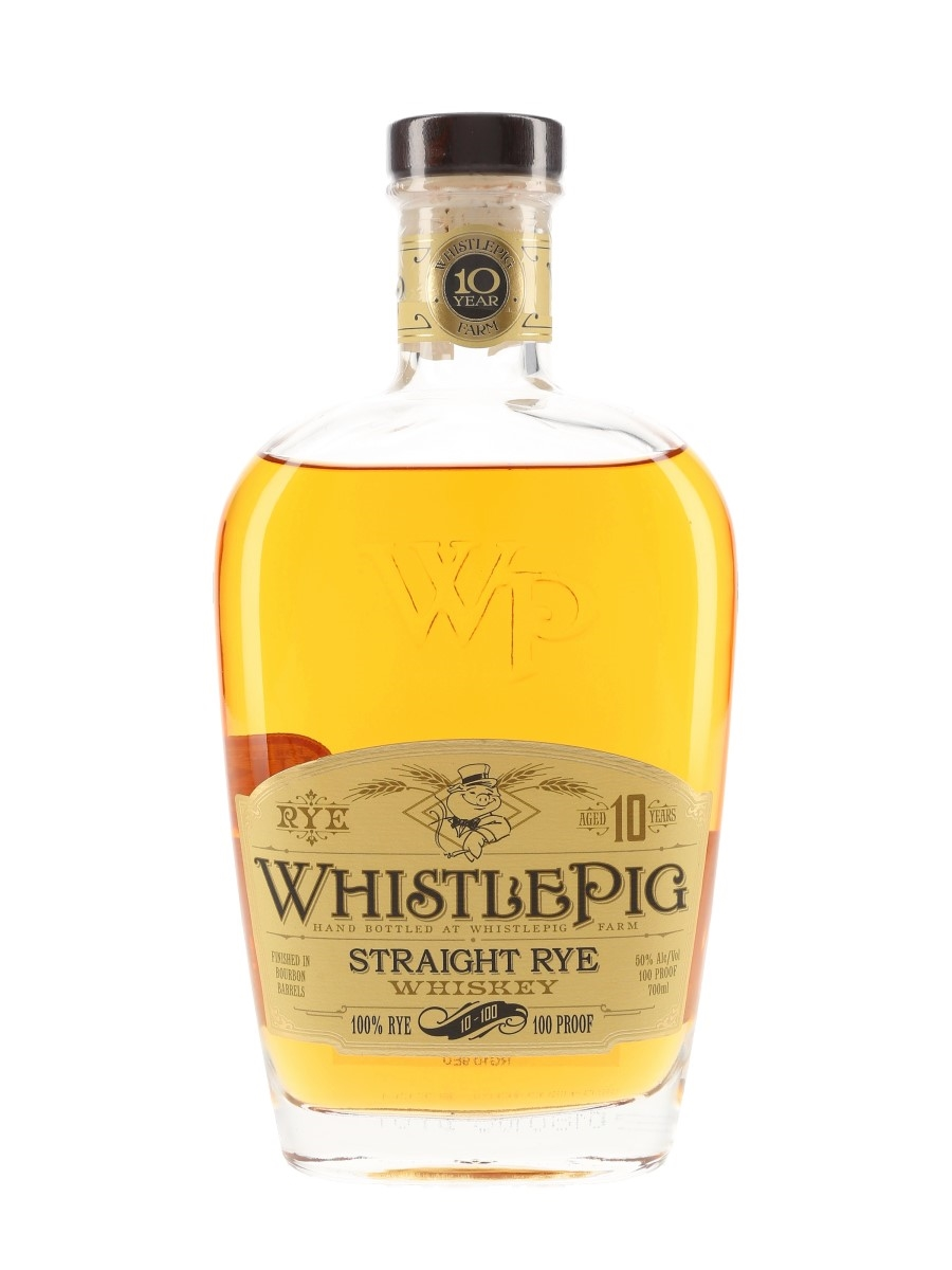 WhistlePig 10 Year Old Rye 100 Proof Bourbon Finish 70cl / 50%