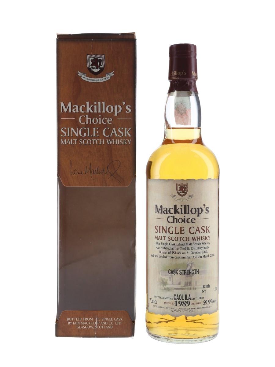 Caol Ila 1989 Mackillop's Choice Bottled 2000 70cl / 59.9%