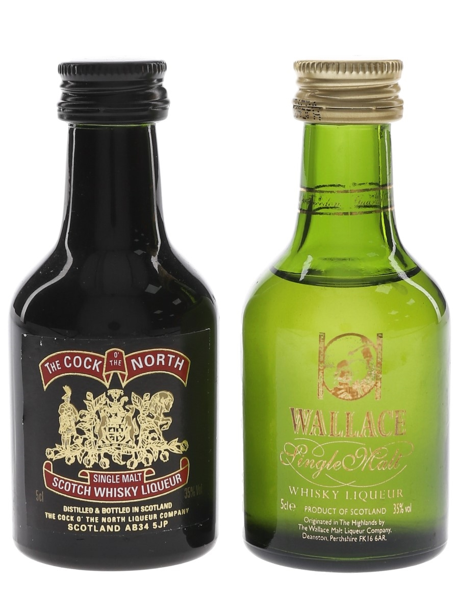 Cock O' The North & Wallace  2 x 5cl / 35%