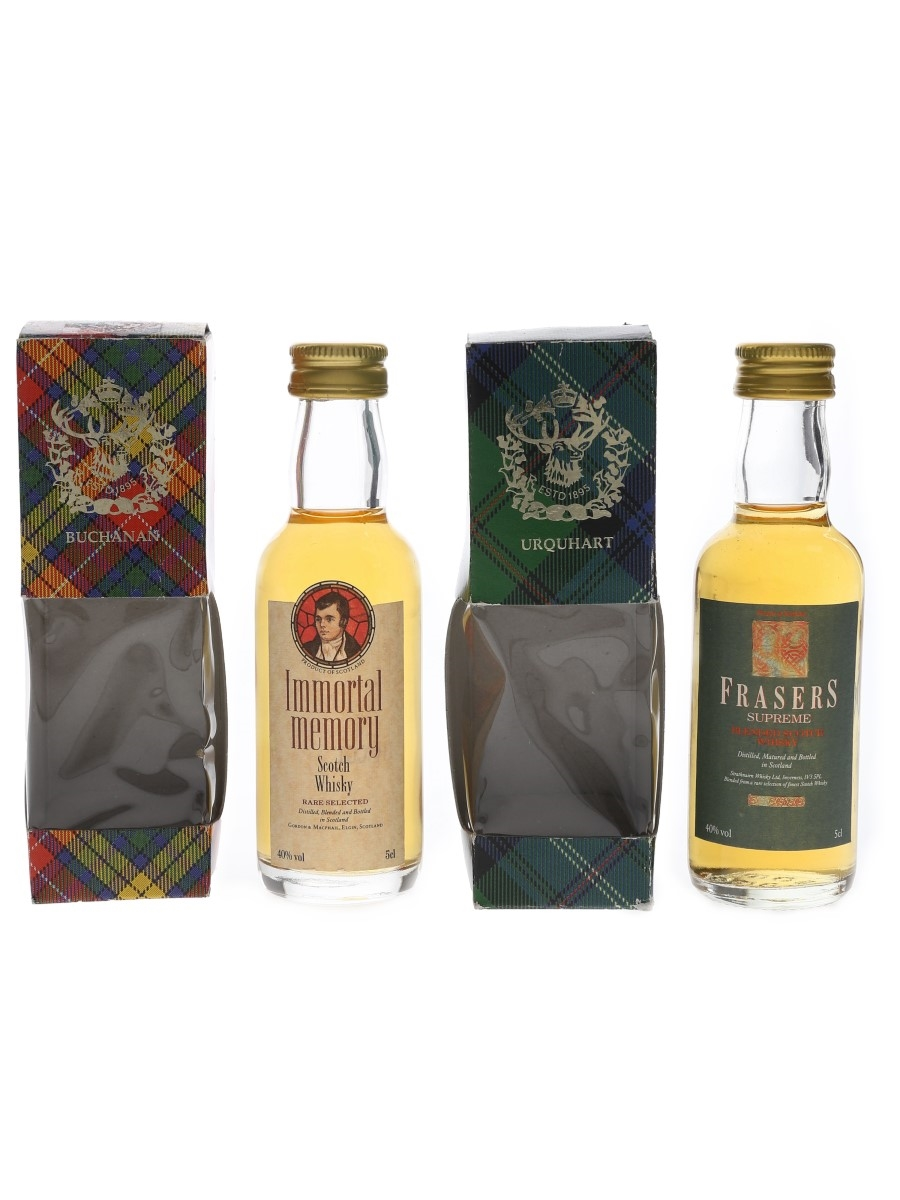 Frasers & Immortal Memory Bottled 1990s 2 x 5cl / 40%