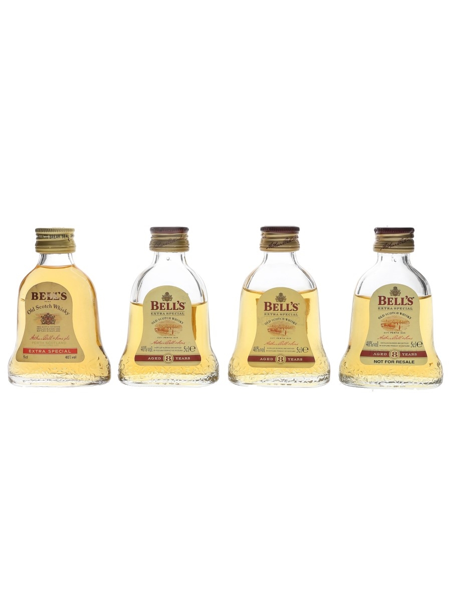 Bell's Extra Special & 8 Year Old  4 x 5cl / 40%