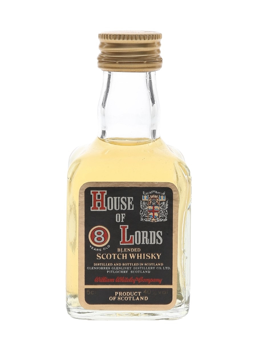 House Of Lords 8 Year Old Bottled 1980s 5cl / 40%