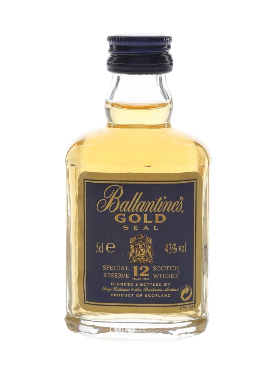Ballantine's 12 Year Old Gold Seal  5cl / 43%