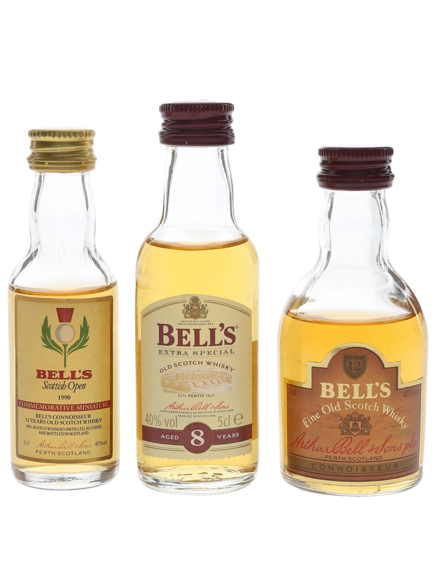 Bell's 8 Year Old & 12 Year Old  3 x 3cl-5cl / 40%