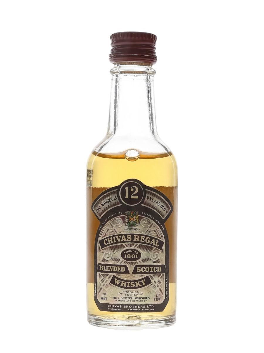 Chivas Regal 12 Year Old Bottled 1970s 5cl / 43%