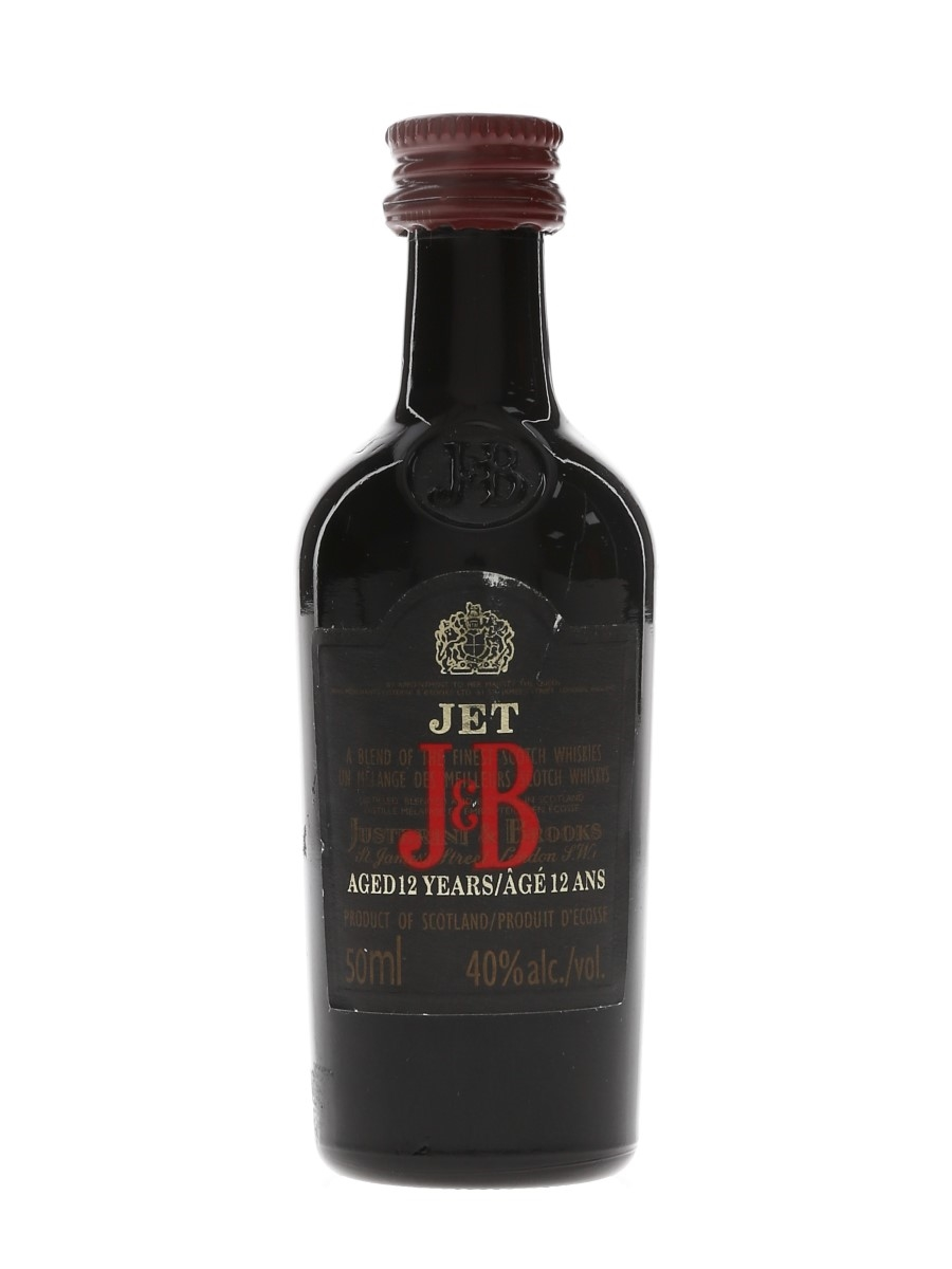 J & B Jet 12 Year Old Bottled 1990s - Canadian Market 5cl / 43%