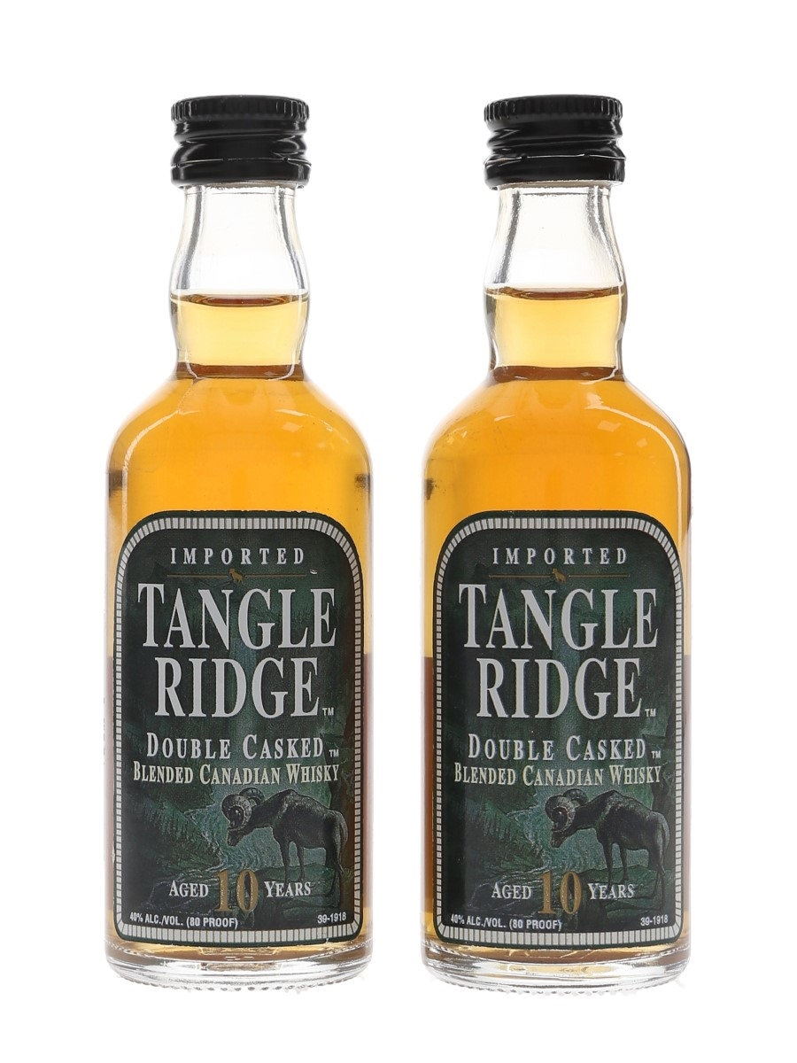 Tangle Ridge 10 Year Old Double Casked  2 x 5cl / 40%