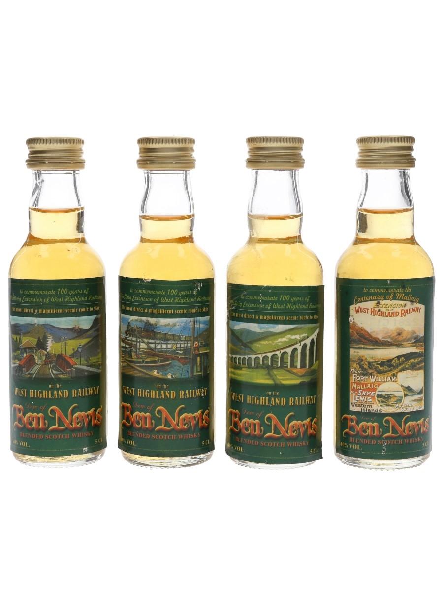 Dew Of Ben Nevis West Highland Railway 100th Anniversary 4 x 5cl / 40%