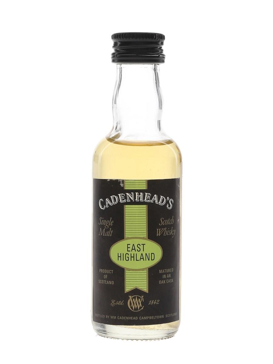 Fettercairn 10 Year Old Cadenhead's 5cl / 60.7%