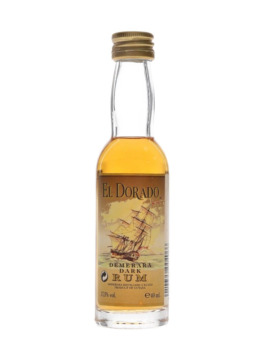 El Dorado Dark Rum  4cl / 37.5%