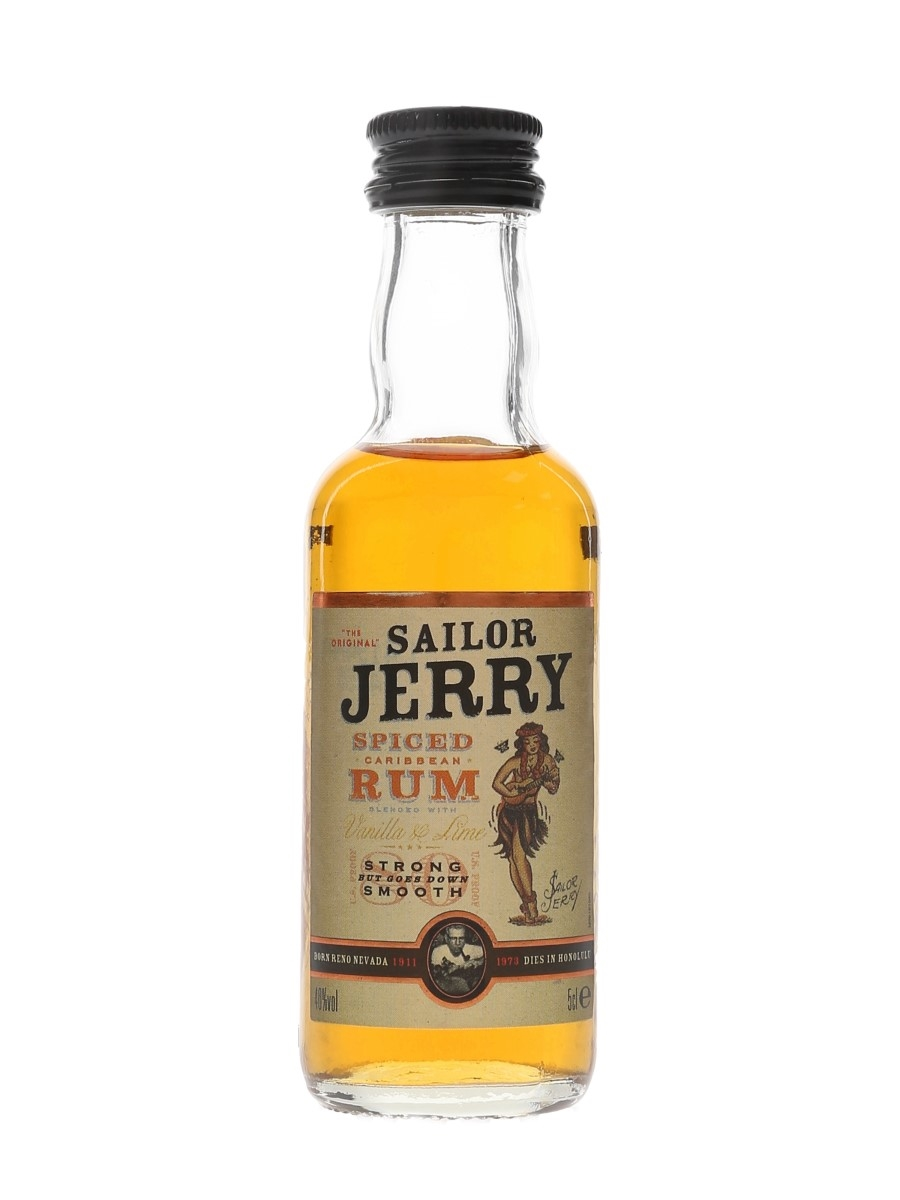 Sailor Jerry Spiced Rum  5cl / 40%