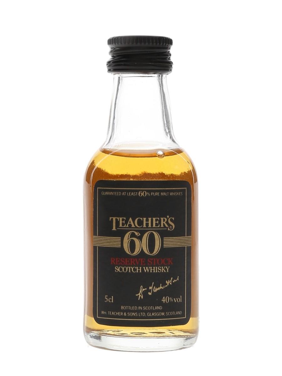 Teacher's 60 Reserve Stock  5cl / 40%