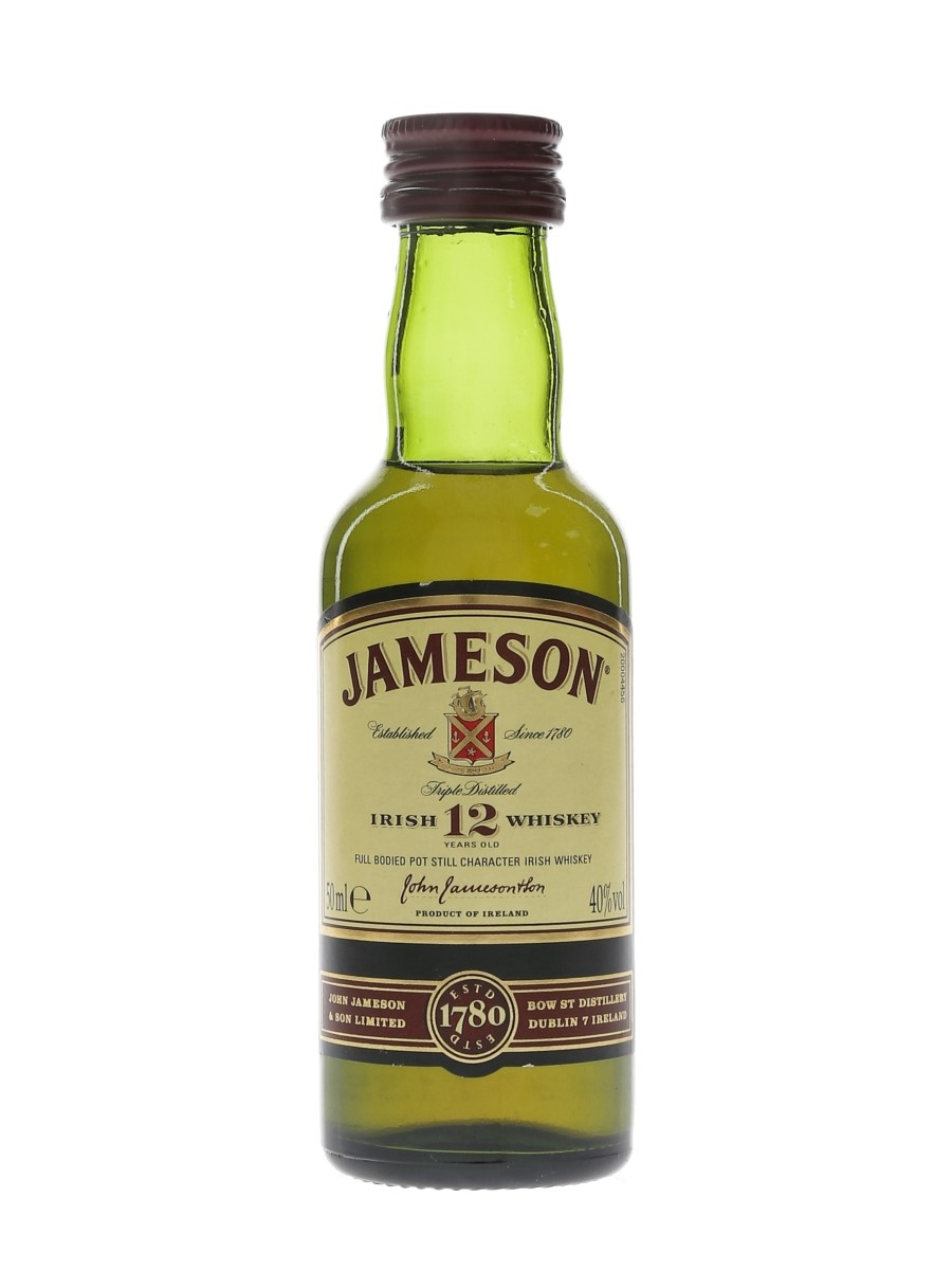 Jameson 12 Year Old  5cl / 40%