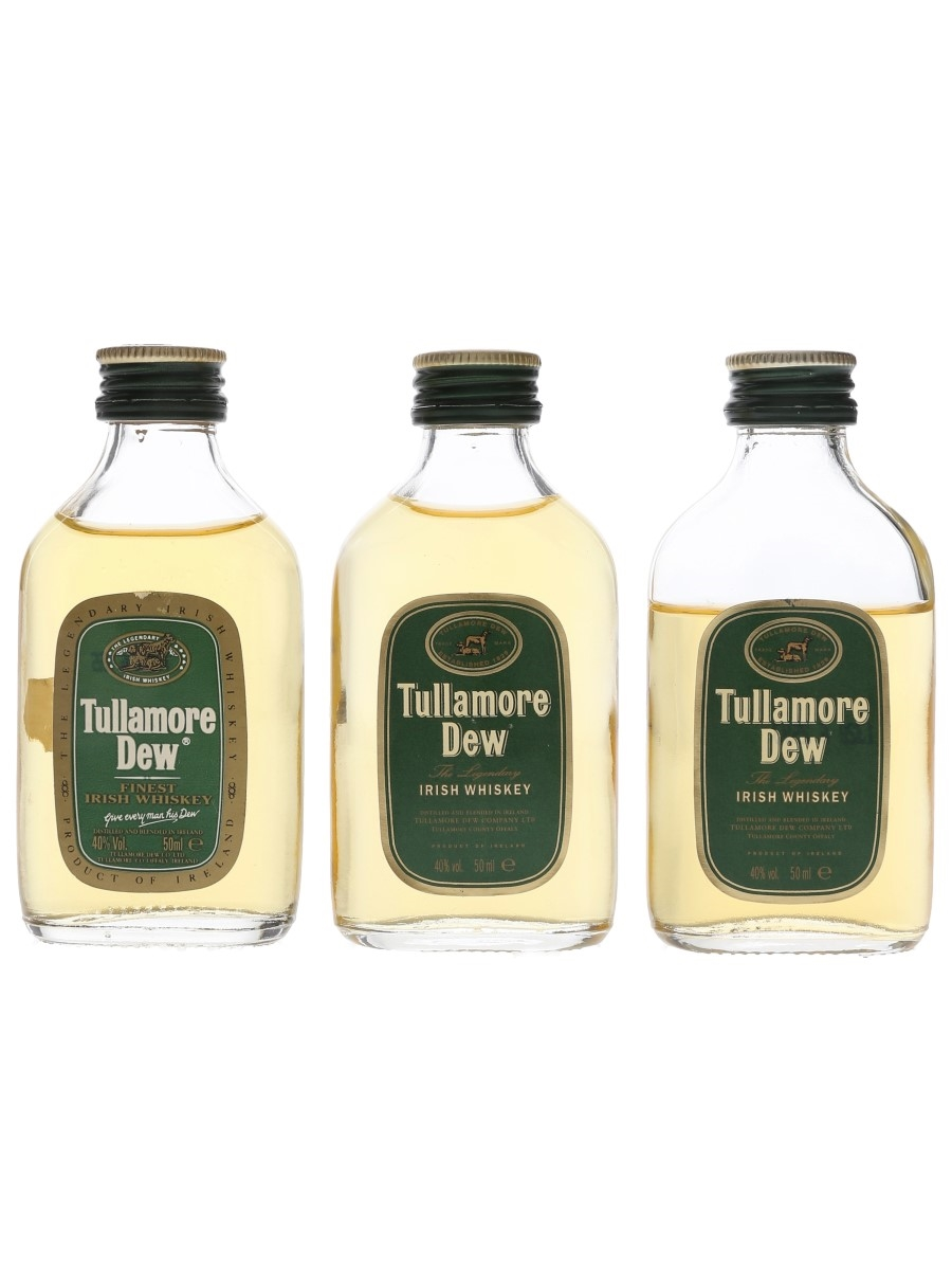 Tullamore Dew  3 x 5cl / 40%