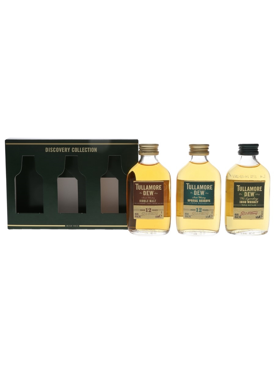 Tullamore Dew Discovery Collection  3 x 5cl