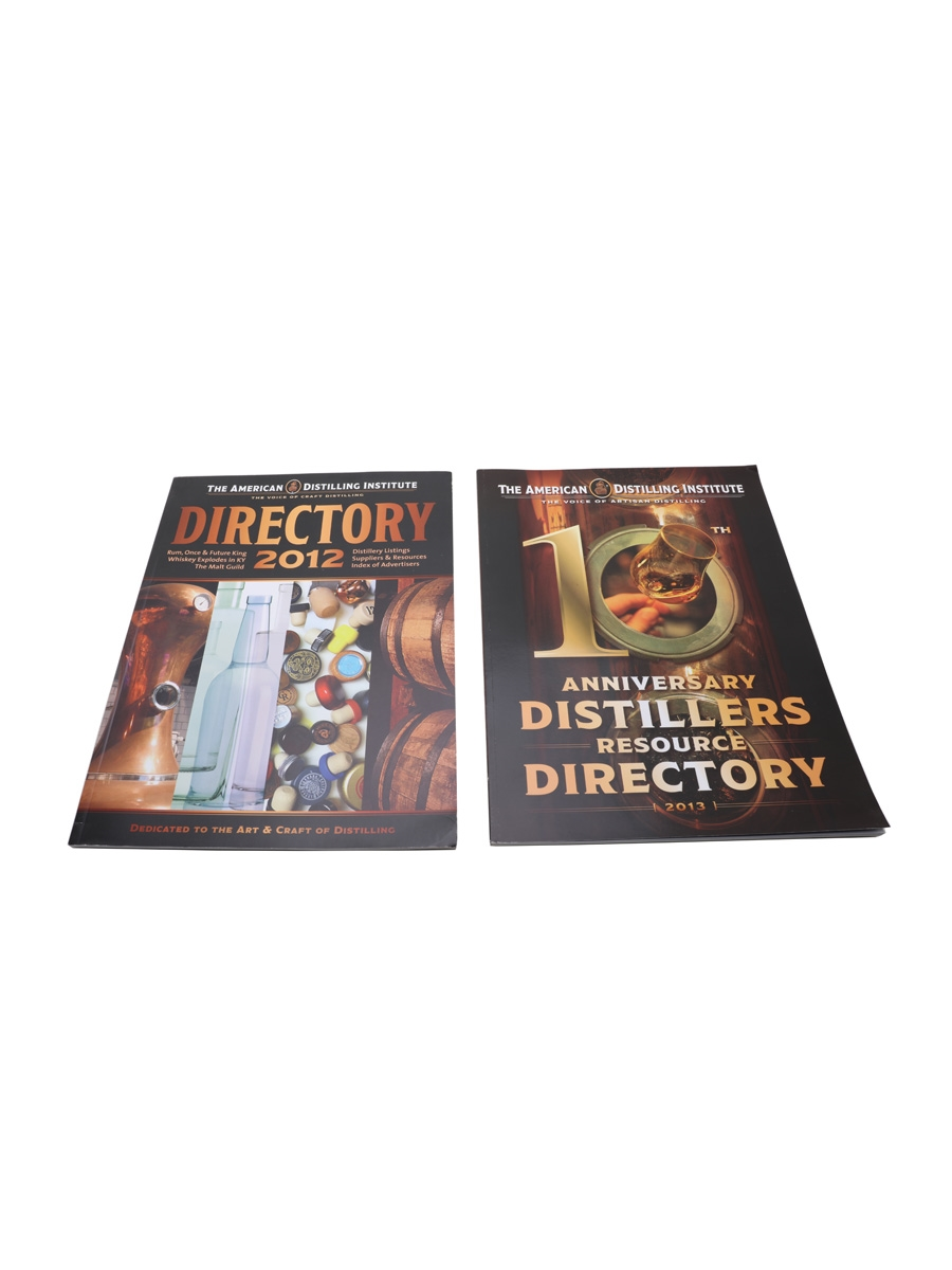 The American Distilling Institute Magazine Distillers Resource Directory 2012 & 2013