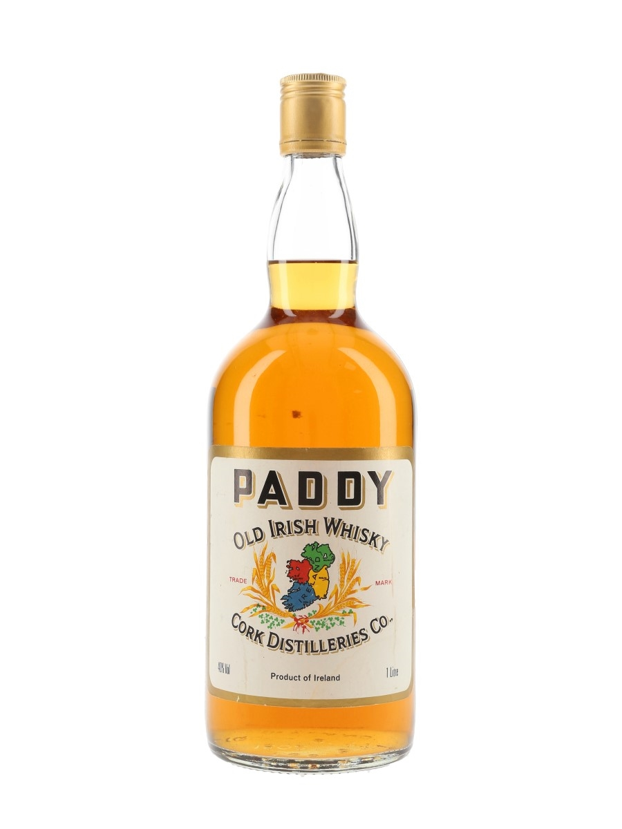 Paddy Old Irish Whisky Bottled 1970s 100cl / 40%