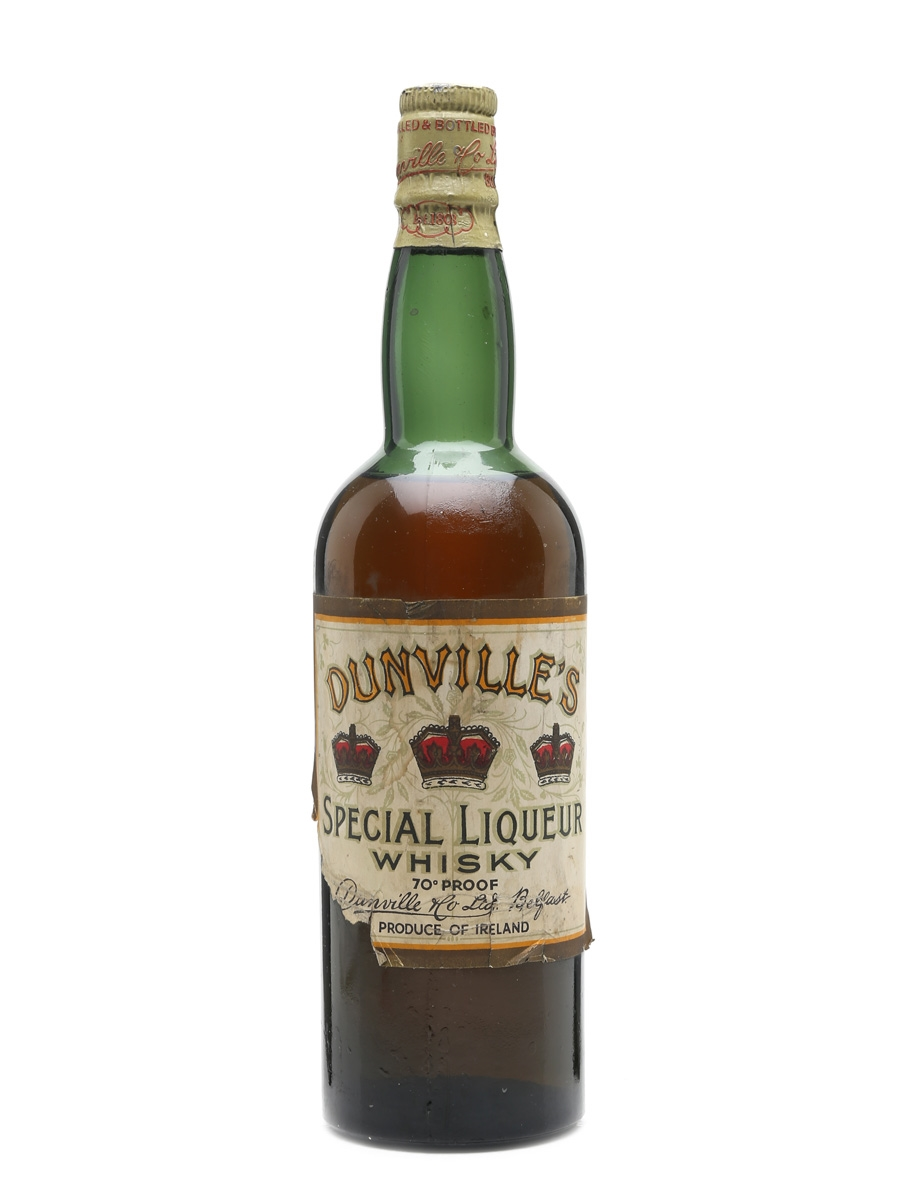 Dunville's Three Crowns Special Liqueur Whisky 75cl