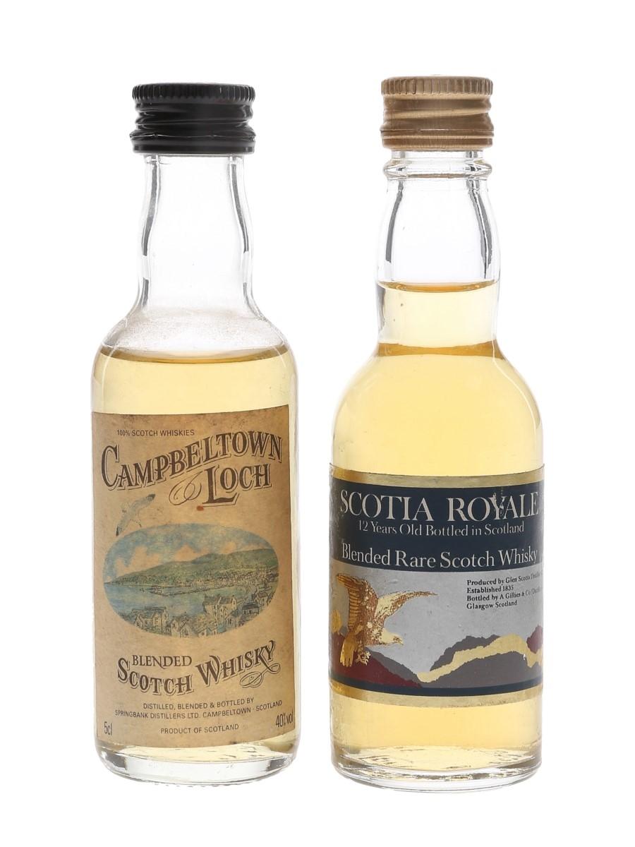Campbeltown Loch & Scotia Royale  2 x 5cl