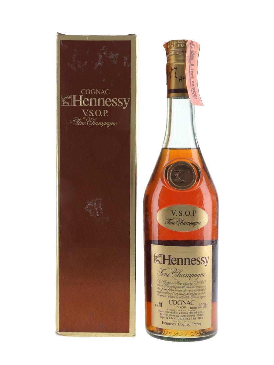 Hennessy VSOP Bottled 1980s - Claretta 70cl / 40%