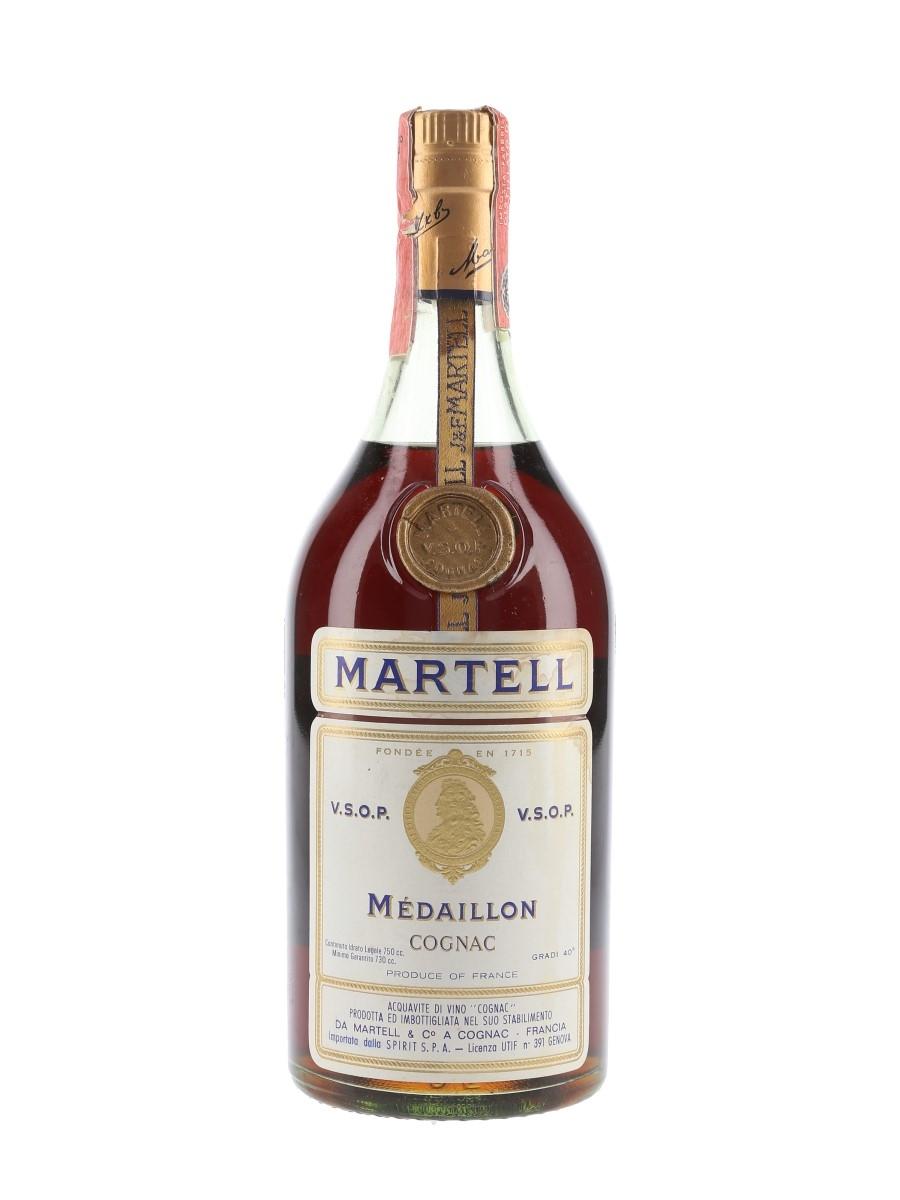 Martell Medaillon VSOP Bottled 1960s-1970s - Spirit 75cl / 40%