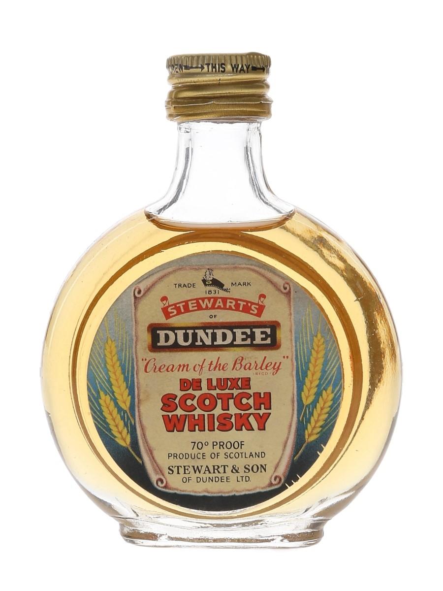Stewart's Cream Of The Barley De Luxe Bottled 1960s-1970s 5cl-7cl / 40%