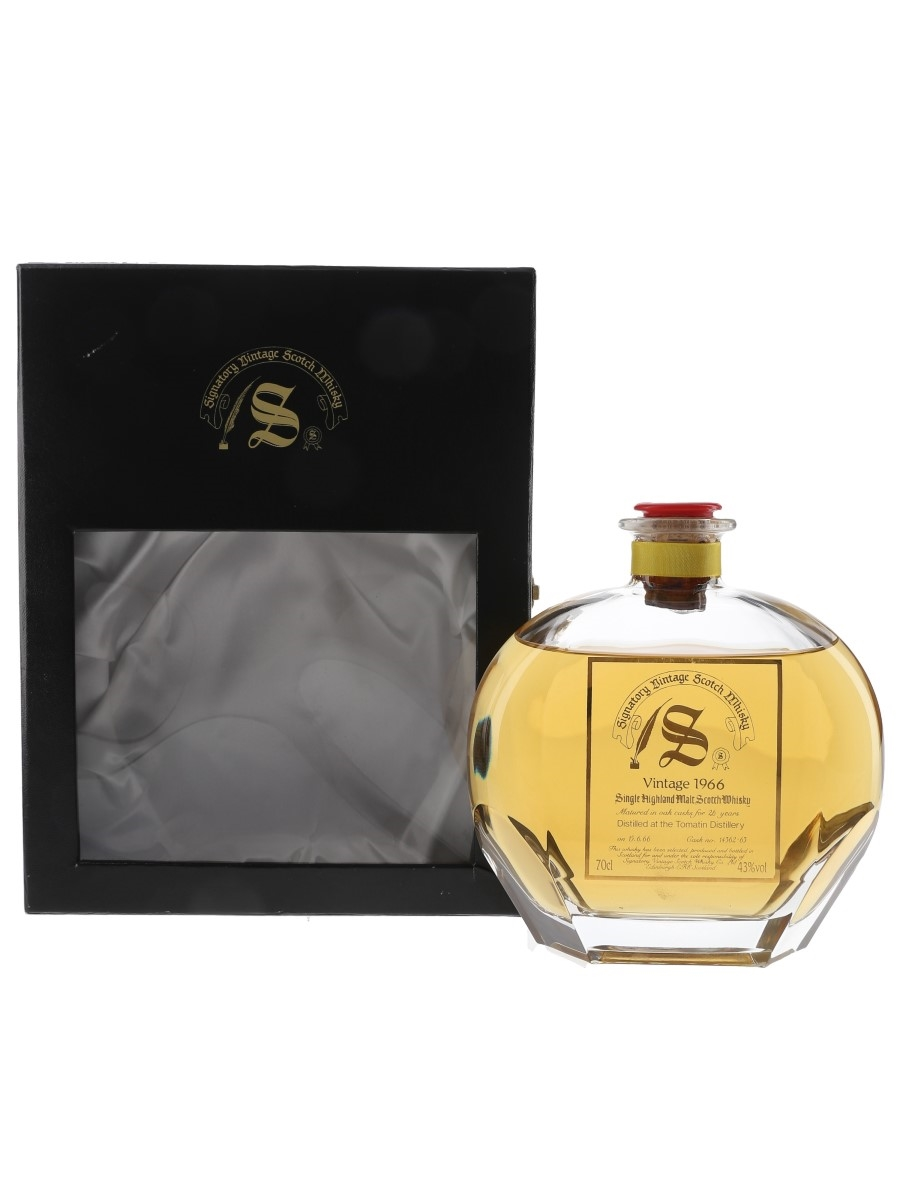 Tomatin 1966 26 Year Old Signatory Vintage 70cl / 43%