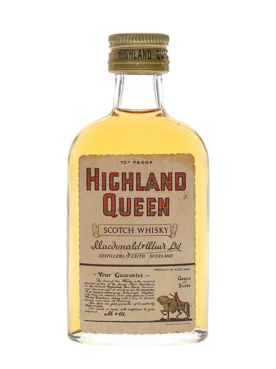 Highland Queen Bottled 1950s-1960s 5cl / 40%