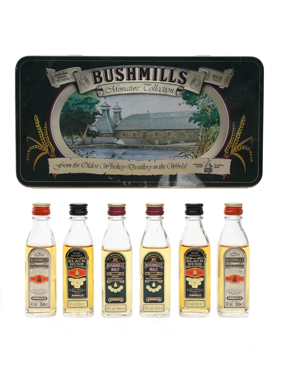 Bushmills Miniature Collection  6 x 5cl / 40%