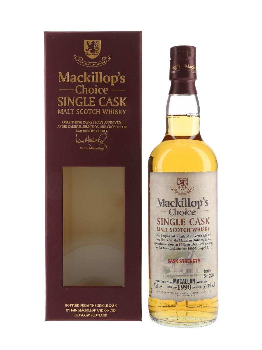 Macallan 1990 Mackillop's Choice Bottled 2013 70cl / 53.9%