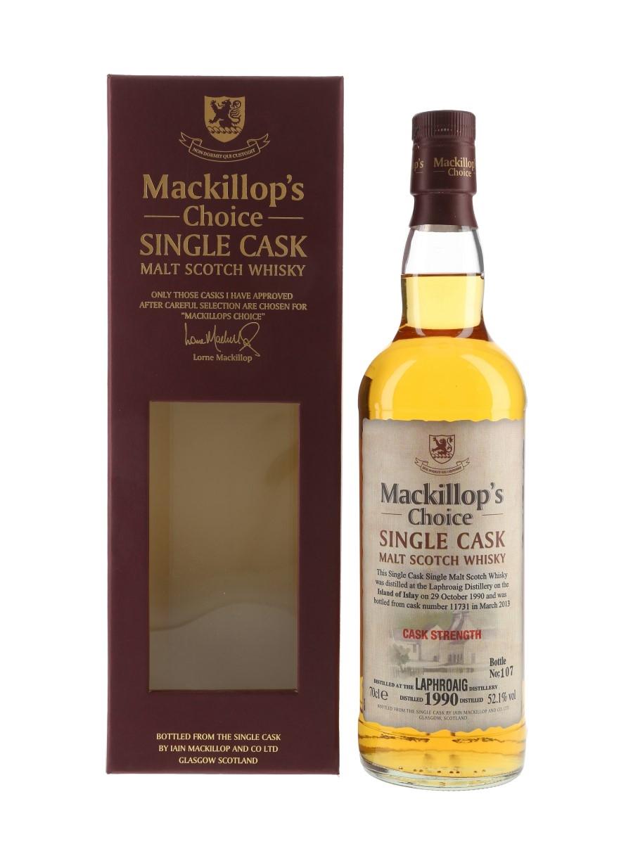 Laphroaig 1990 Mackillop's Choice Bottled 2013 70cl / 52.1%