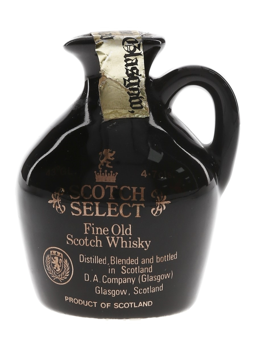 Scotch Select Fine Old Ceramic Decanter  5cl