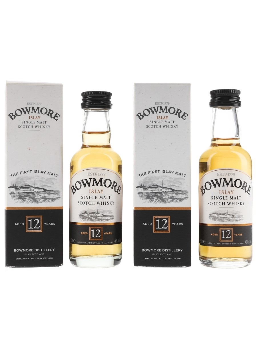 Bowmore 12 Year Old  2 x 5cl / 40%