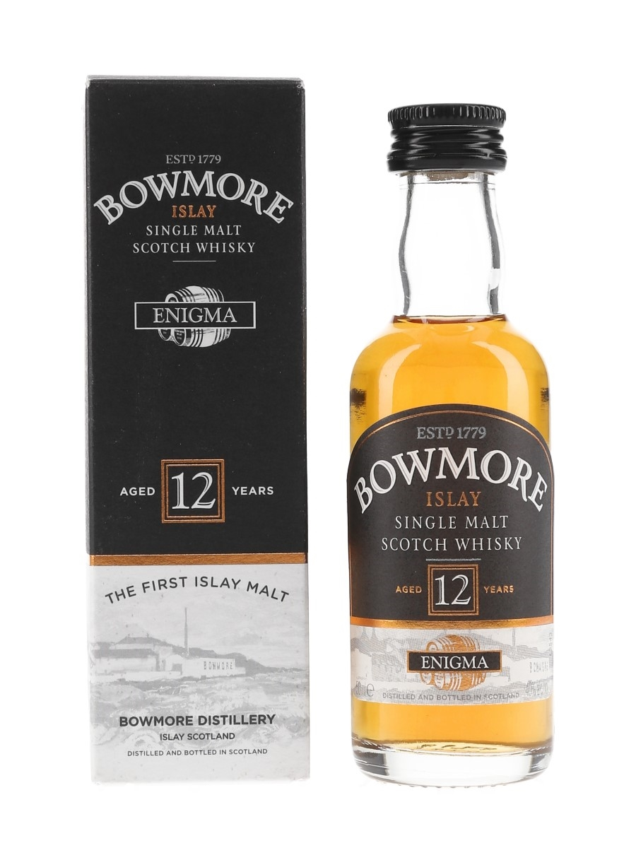 Bowmore 12 Year Old Enigma  5cl / 40%