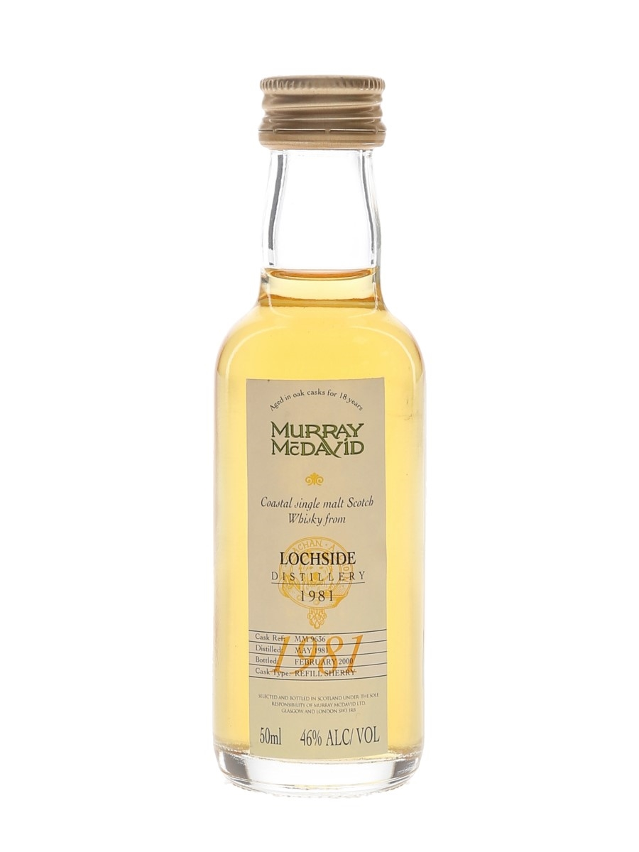 Lochside 1981 18 Year Old Bottled 2000 - Murray McDavid 5cl / 46%