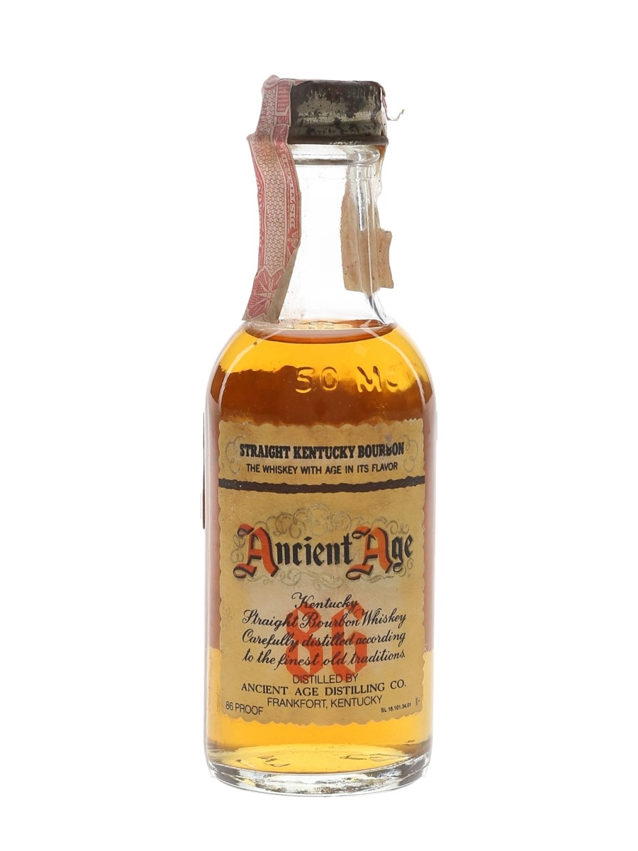 Ancient Age 86 Bottled 1970s 5cl / 43%