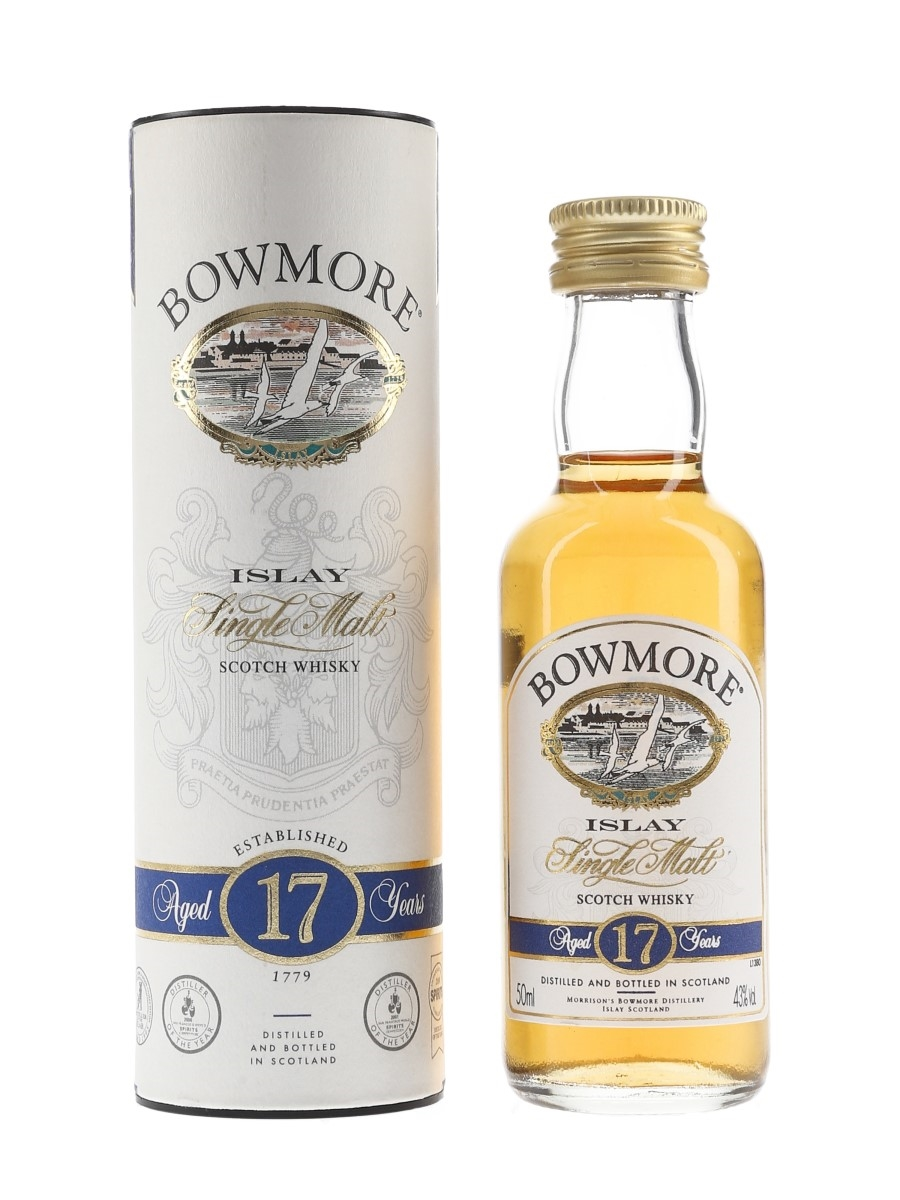 Bowmore 17 Year Old Bottled 2000s 5cl / 43%