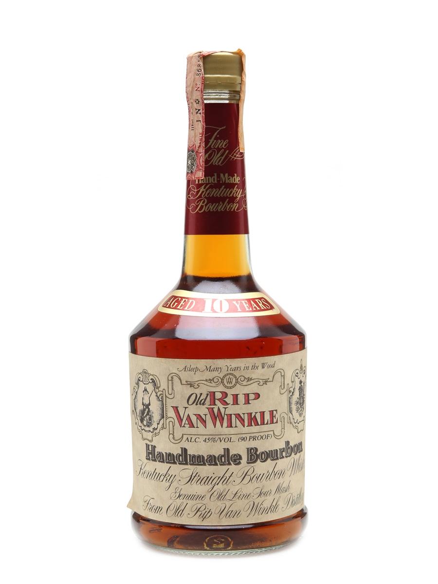 Old Rip Van Winkle 10 Year Old Lawrenceburg Stitzel-Weller 75cl / 45%