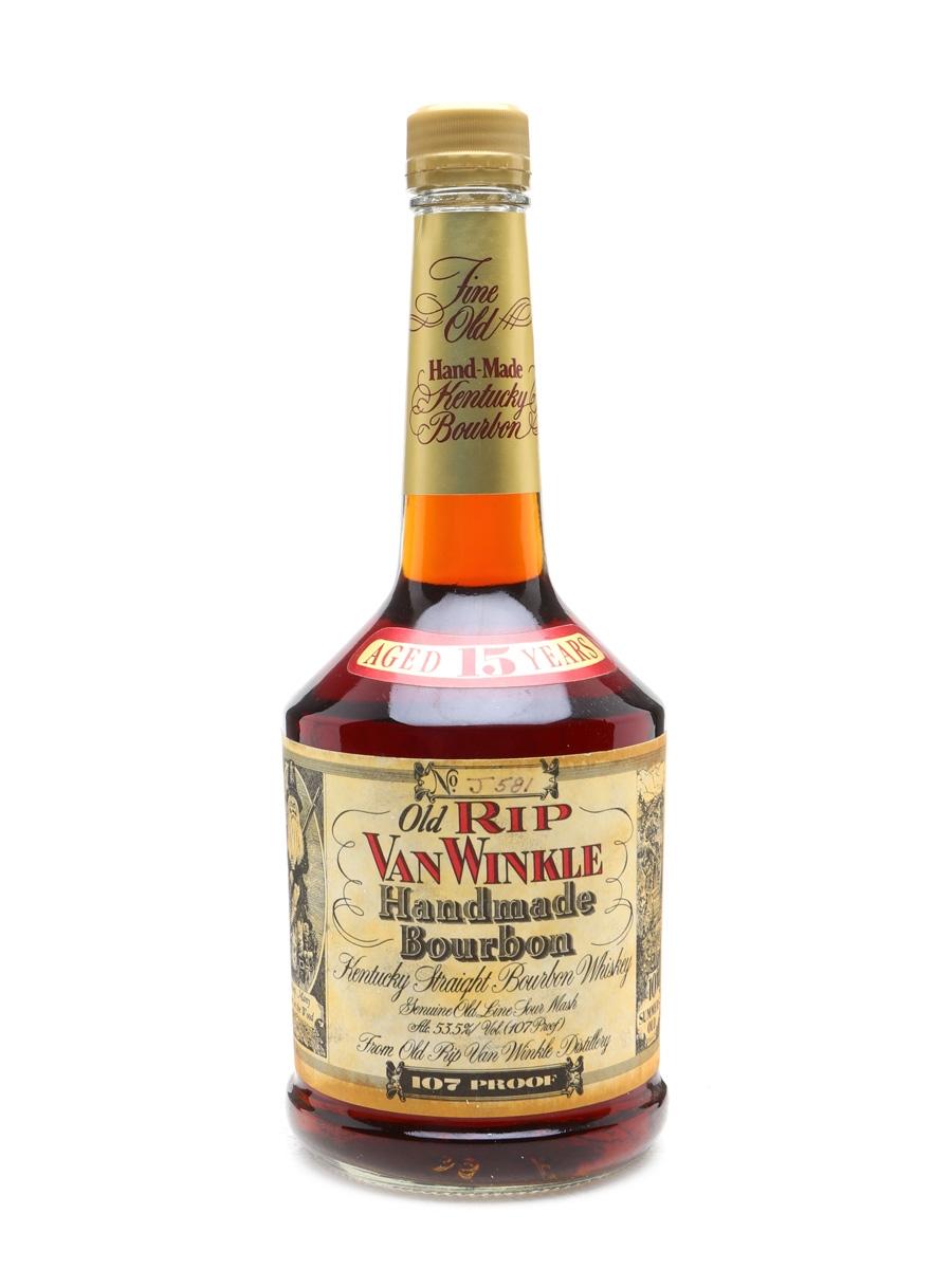 Old Rip Van Winkle 15 Years Old Lawrenceburg 107 Proof  Stitzel-Weller 75cl / 53.5%