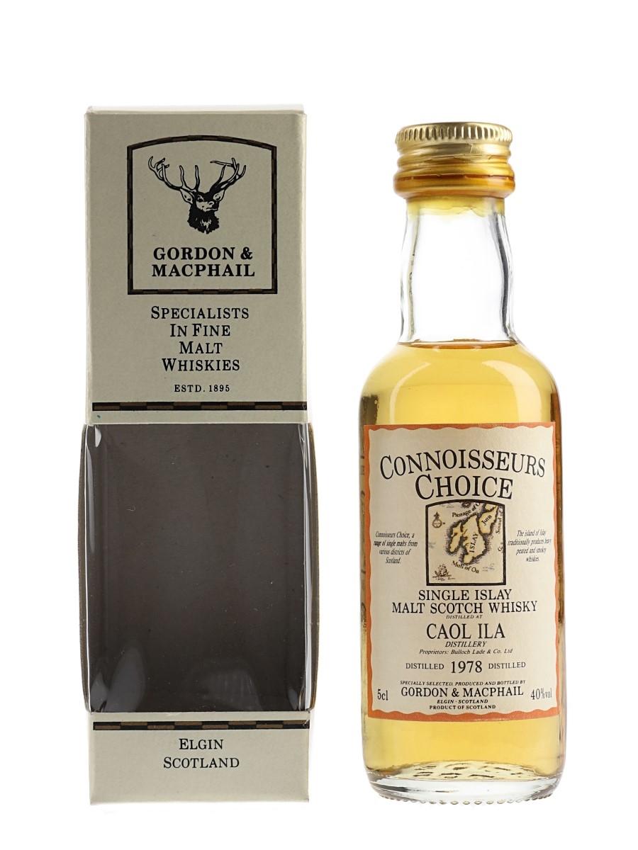 Caol Ila 1978 Bottled 1990s - Connoisseurs Choice 5cl / 40%
