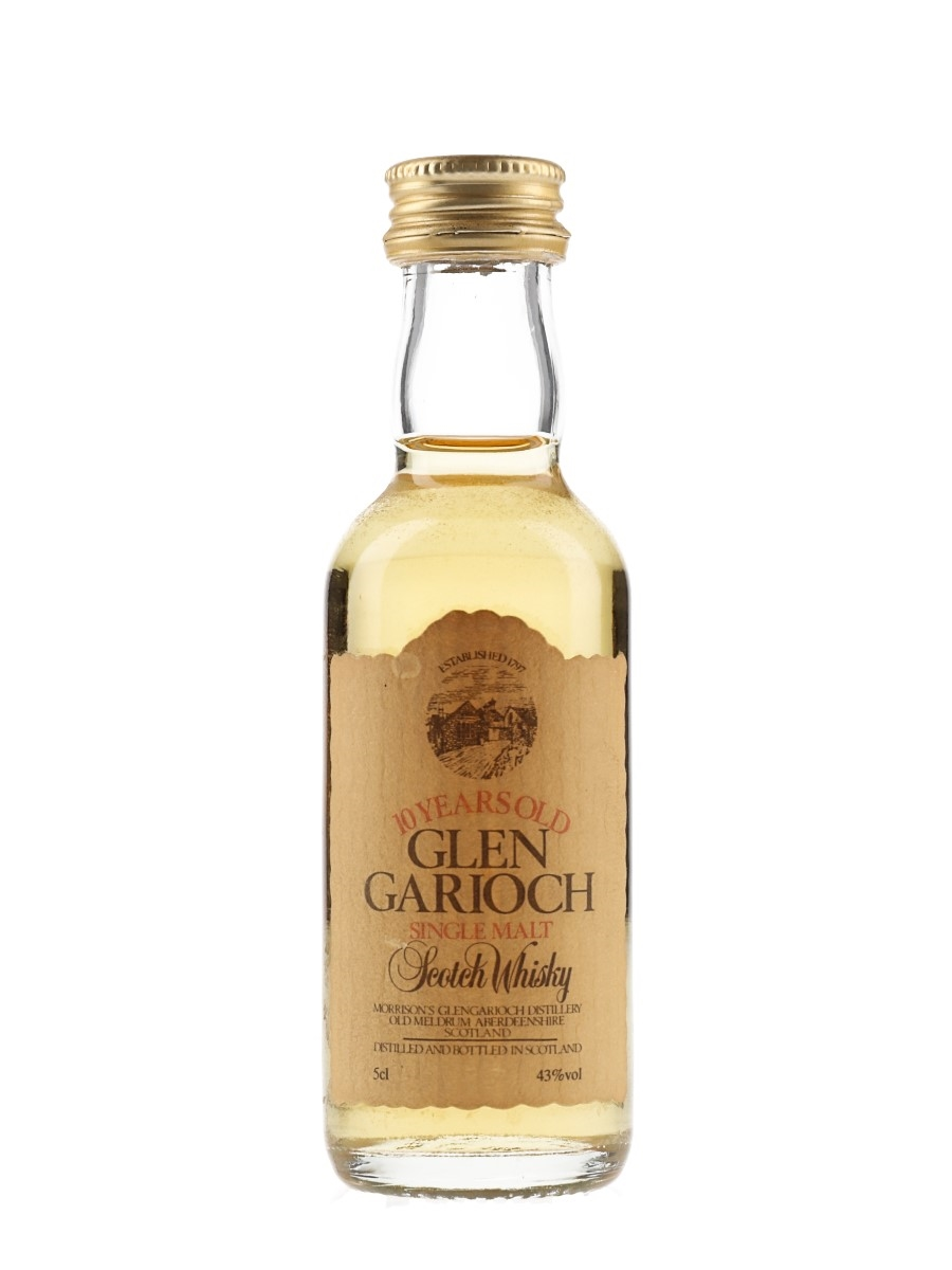 Glen Garioch 10 Year Old Bottled 1980s 5cl / 43%