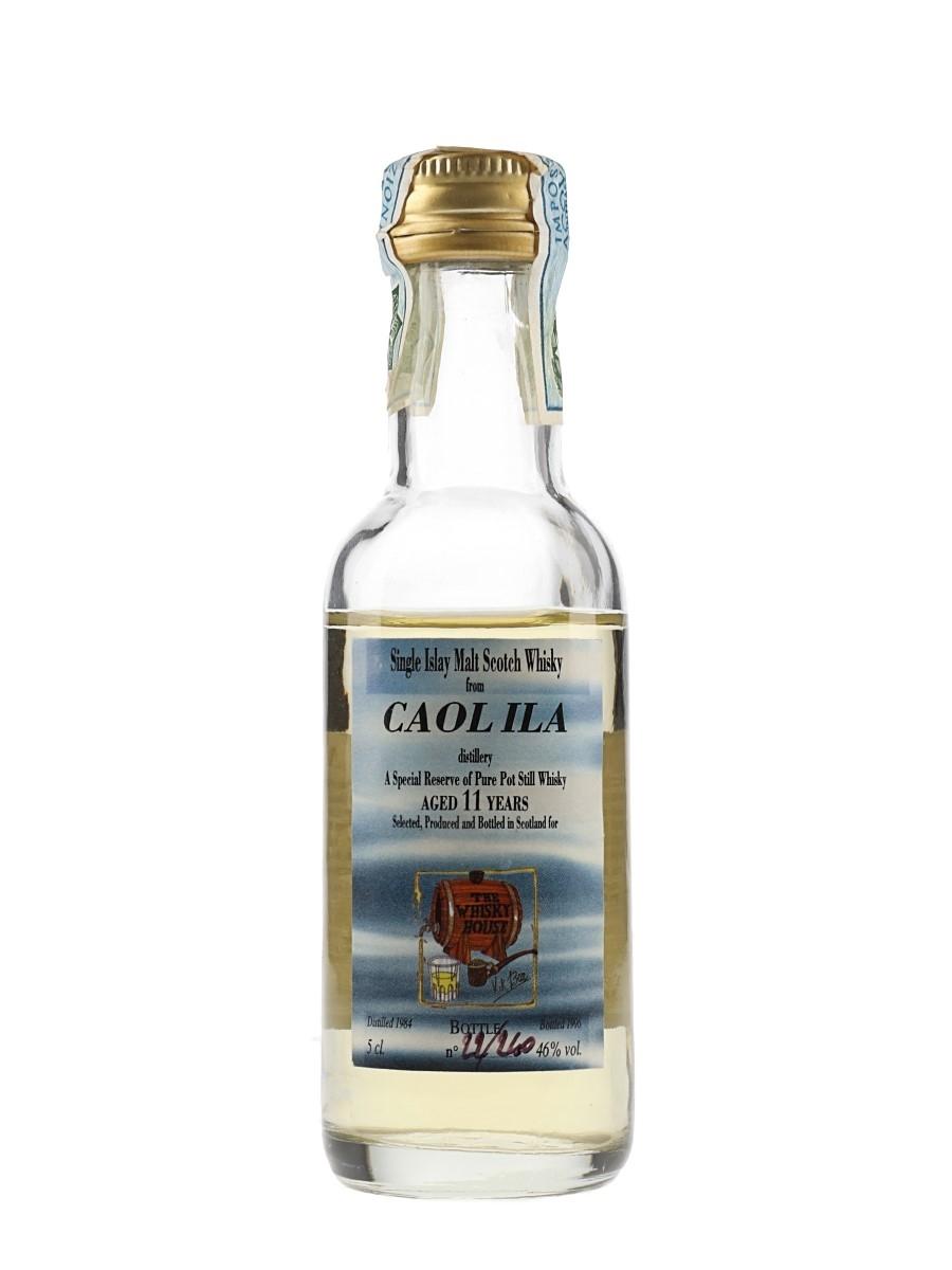 Caol Ila 1984 11 Year Old Bottled 1996 - The Kik Bar - The Whisky House 5cl / 46%