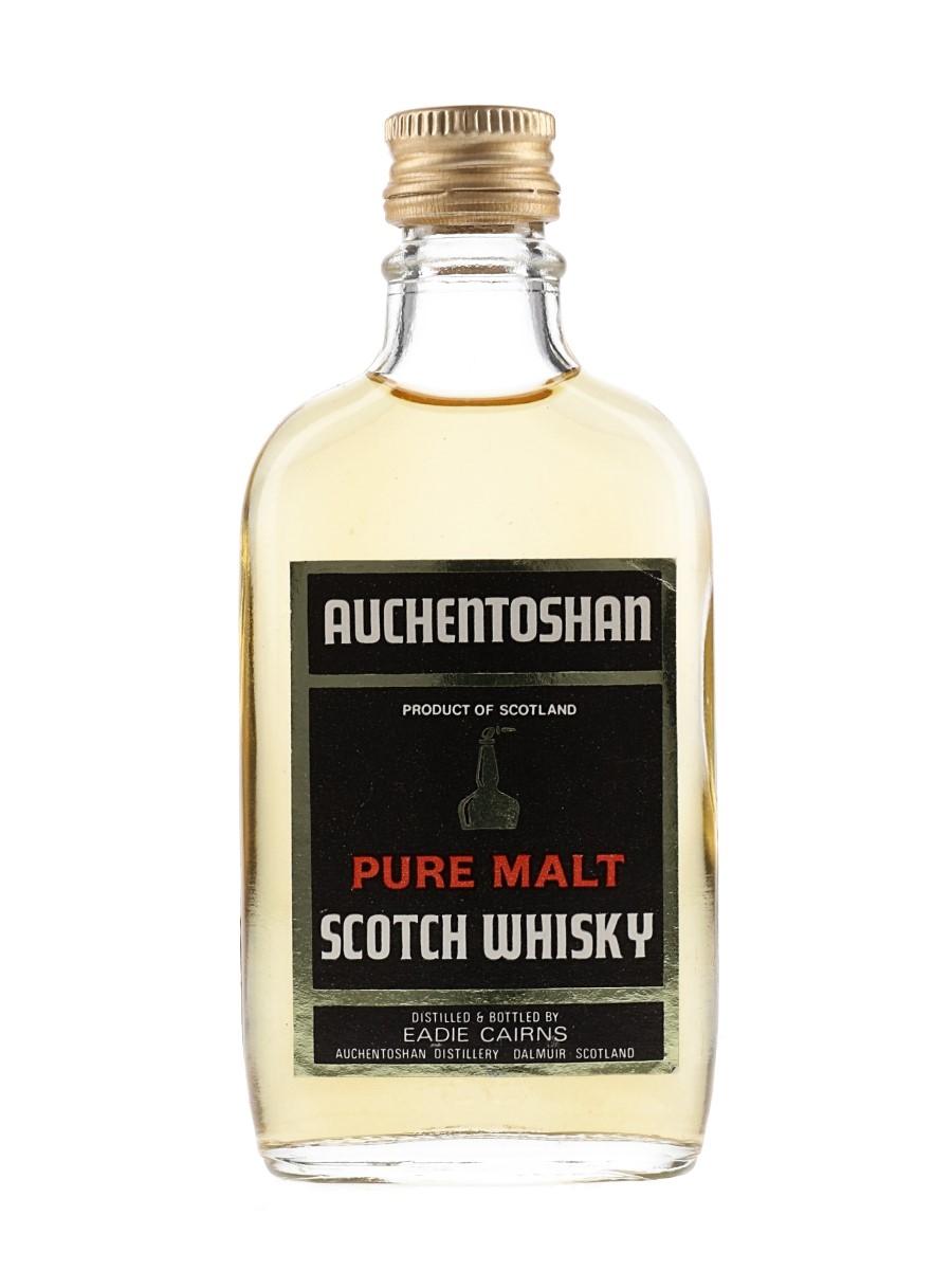 Auchentoshan Pure Malt Bottled 1970s - Eadie Cairns 5cl