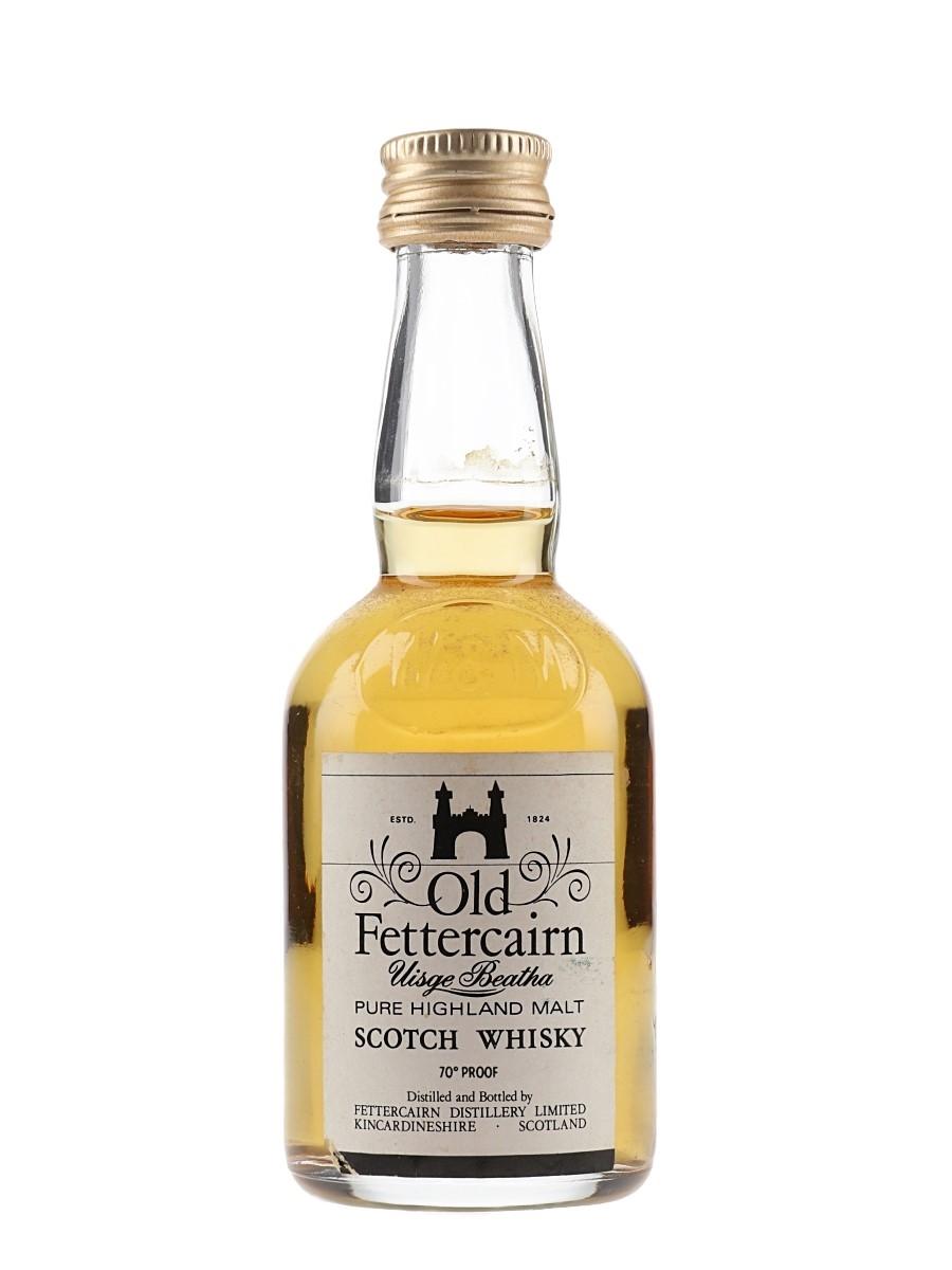 Old Fettercairn Uisge Beatha Bottled 1970s 5cl / 40%