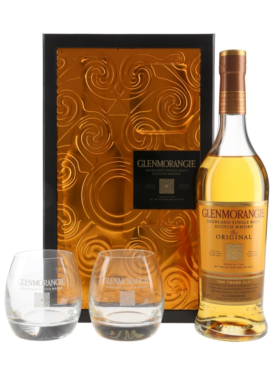 Glenmorangie 10 Year Old Gift Set with Tumblers 70cl