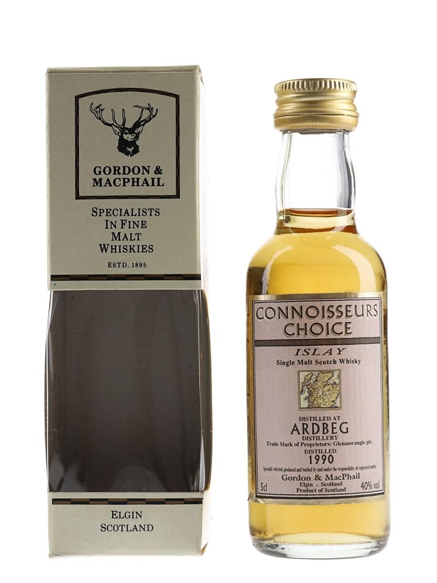 Ardbeg 1990 Bottled 2000s - Connoisseurs Choice 5cl / 40%