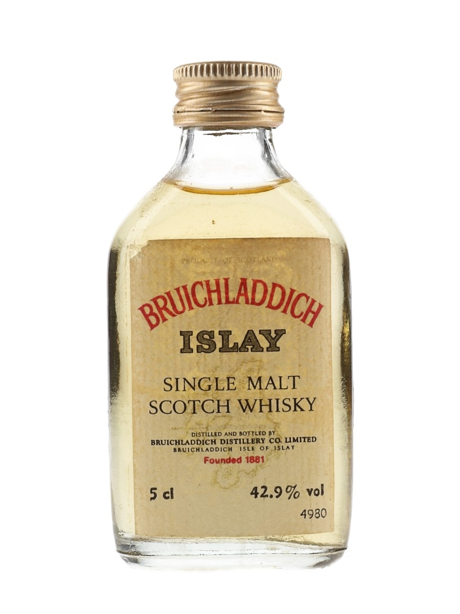 Bruichladdich Bottled 1980s 5cl / 42.9%