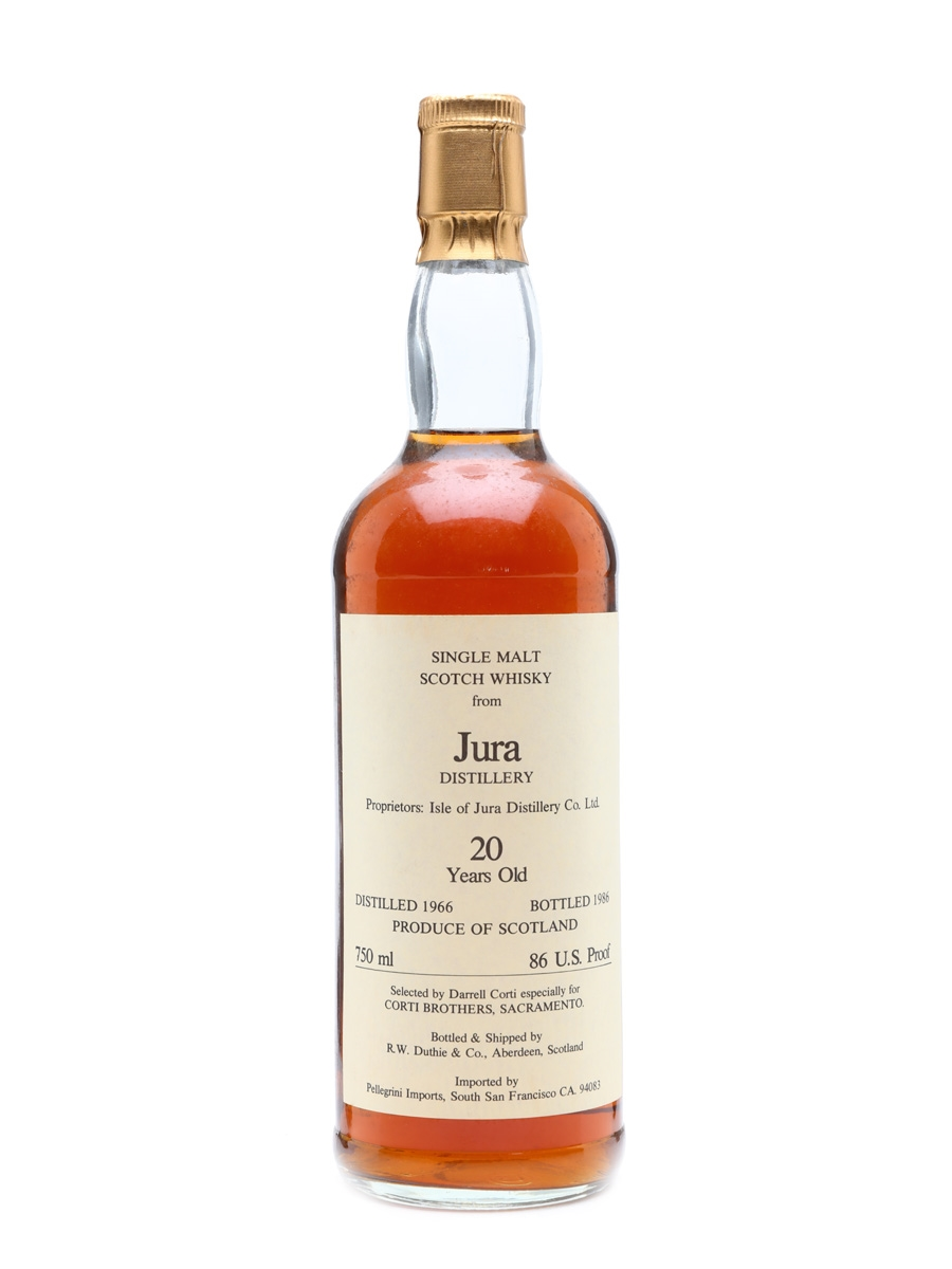 Jura 1966 Duthie for Corti 20 Years Old 75cl