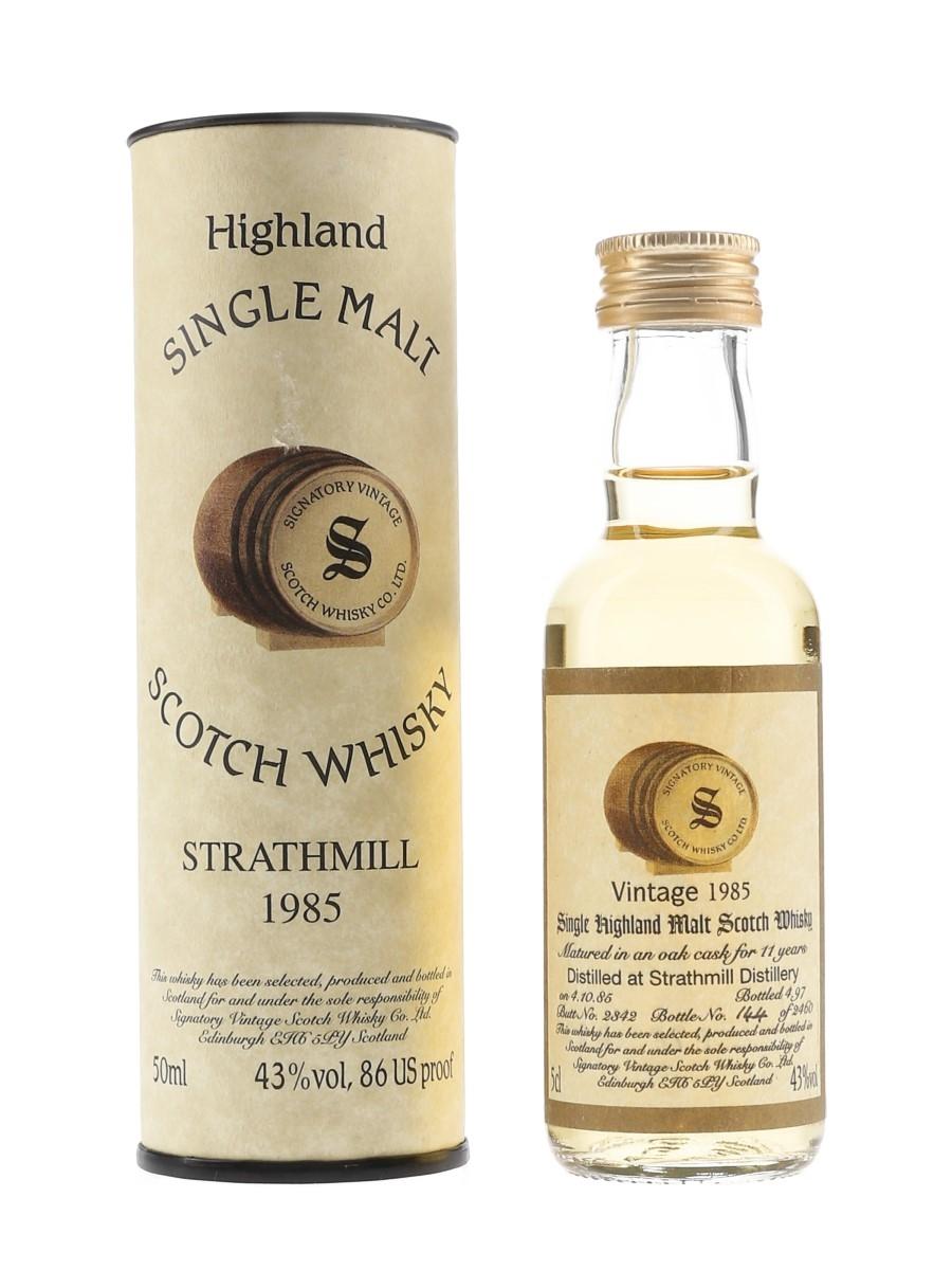 Strathmill 1985 11 Year Old Cask 2342 Bottled 1997 - Signatory Vintage 5cl / 43%